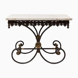 Marmor Gartentisch aus frühem 20. Jahrhundert