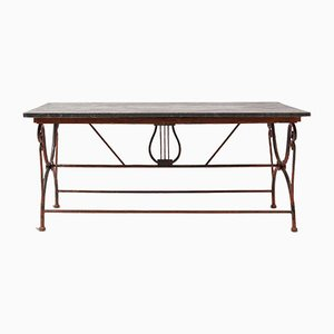 19th Century Bluestone Garden Table