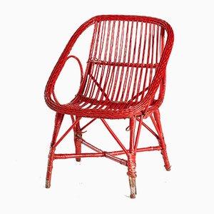 Chaise de Jardin en Osier et Rotin