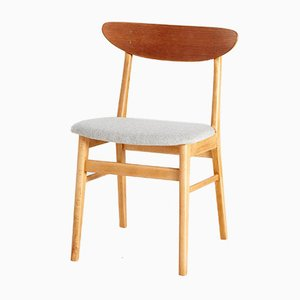 Chaise de Salle à Manger Modèle 210 en Teck de Farstrup