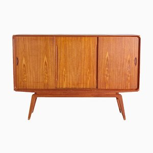 Teak Highboard von Clausen & Son