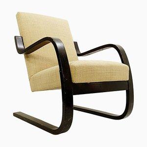 Butaca de madera curvada de Alvar Aalto para Artek, 1939
