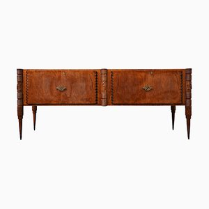 Large Italian Ashwood Sideboard by Pier Luigi Colli, 1940s