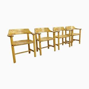 Sedie in legno, set di 4