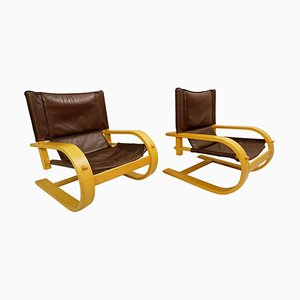 Scacciapensieri Stühle von De Pas, D'urbino & Lomazzi für Poltronova, 2er Set