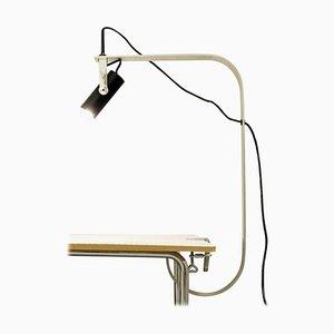Fontana Schreibtischlampe mit Klemmfuß, Italien, 1970er