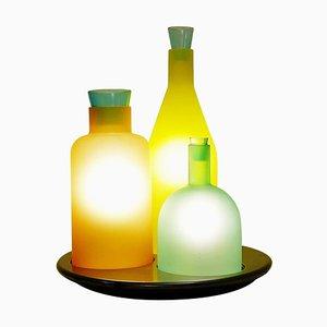 Bacco 1-2-3 Italian Murano Glass Table Lamp by Gido Rasati for ITRE, 1980s