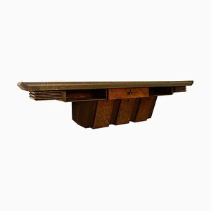 Extra Large Wood Console by Pier Luigi Colli, Italy, 1950s