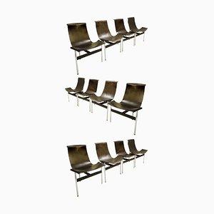 T Chairs by Douglas Kelly, Ross Littell & William Katavolos, Set of 12