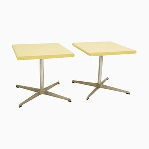 Side Tables by Fritz Hansen, Set of 2