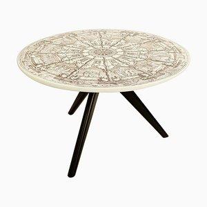Tripod Round Coffee Table