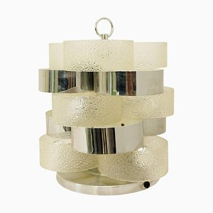 Italian Concentric Ring Table Lamp, 1970s