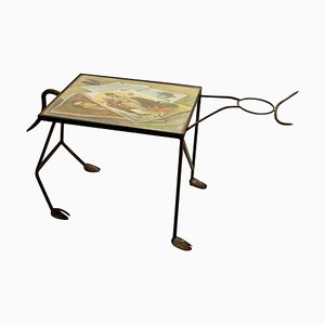 Wrought Iron Corrida Side Table