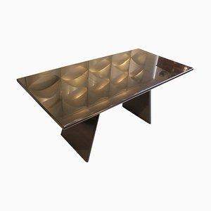 Model Asolo Table in Marble by Angelo Mangiarotti, Italy, 1981