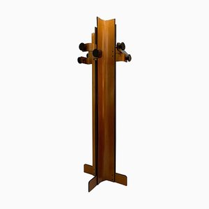 Coat Rack in Multiplex Curved Wood by Campo Graffi, 1960s