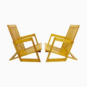 Ash Armchairs, Set of 2