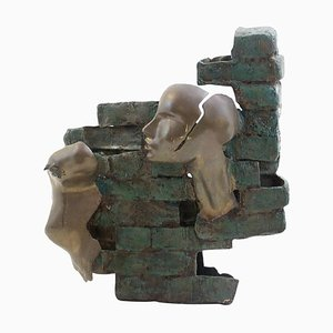 Scultura in bronzo di Eleonora Drummond, 1987