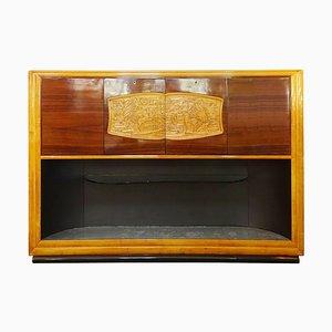 Art Deco Bar Cabinet by Vittorio Dassi, Italy, 1940s