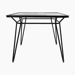 Quadratischer Schmiedeeisen Tisch von Ico Parisi