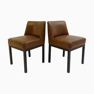 Louise Chairs by Jules Wabbes for Mobilier Universel, 1960s, Set of 2