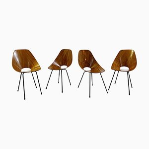 Medea Chairs by Vittorio Nobili for Fratelli Tagliabue, Set of 4