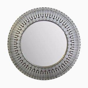Round Wall Mirror by Raf Verjans, 1970s