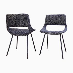 Upholstered Chairs by Louis Paolozzi for Zol, Set of 2
