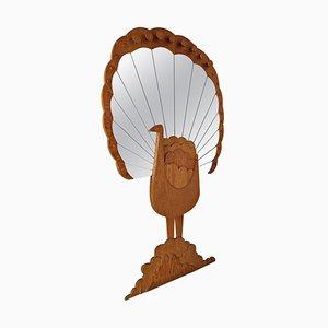 Specchio Pavone di Sirio Alessandri per Pallucco, anni '70
