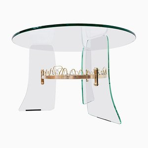 Coffee Table in the Style of Fontana Arte, 1950s