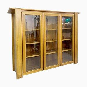 Walnut Display Cabinet by Mario Marenco, Italy, 1980