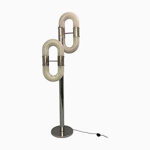 Floor Lamp in Murano Glass by Aldo Nason, 1970s