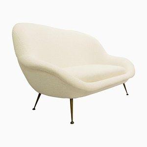 Cremefarbenes Italienisches Sofa
