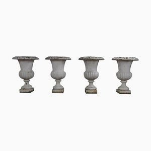 Medicis Vases in Style Charles X, 19th Century, Set of 4