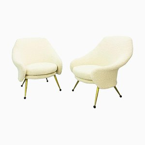Martingale Armchairs by Marco Zanuso for Arflex, Set of 2