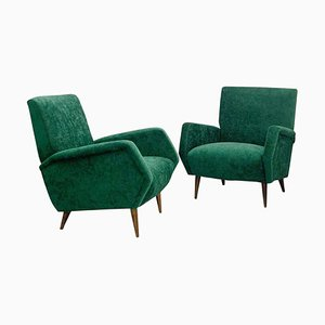Model 803 Armchairs by Gio Ponti for Cassina, Italy, 1954