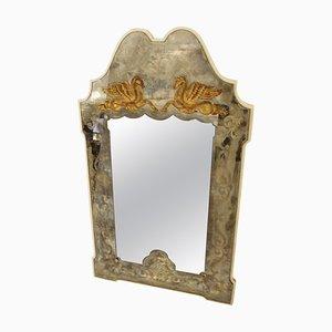 Specchio in stile Pierre Lardin, Francia, anni '40