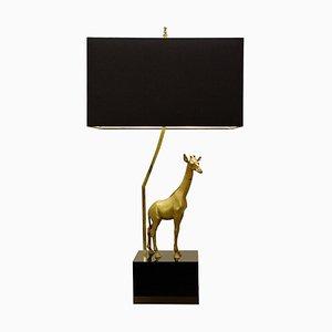 Giraffe Brass Table Lamp, 1960s