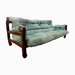 Mahogany Samuray Sofa by Luciano Frigerio