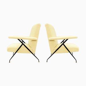 Italian Armchairs, Set of 2