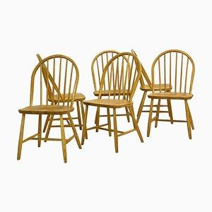 Sedie di Erik Ole Jørgensen per Tarm Stole Møbelfabrik Chairs, Set of 6