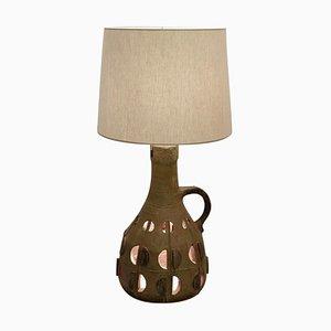 Lampe de Bureau en Céramique Vernie