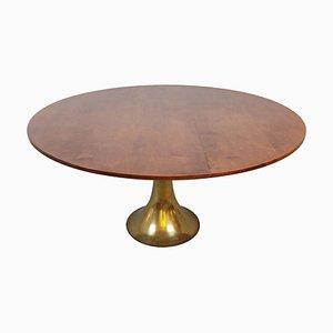 Tavolo da pranzo modello 302 di Angelo Mangiarotti per Bernini, Italia