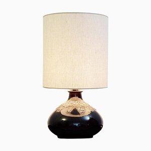 Lampe de Bureau Fat Lava Marron en Céramique
