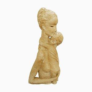 Ceramic Sculpture by Koos Van Der Kaaij, Belgium, 1964