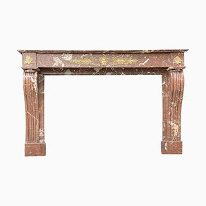 Louis-Philippe Style Fireplace in Marble