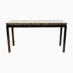 Granite and Wood Console by E. J. Wormley