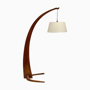 Lampada da terra ad arco in stile JT Kalmar