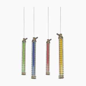 Industrial Ceiling Light-Columns, 1960