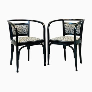 Armchairs by Otto Wagner, Set of 2