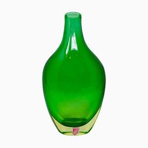 Murano Glass Vase by Flavio Poli for Seguso Vetri D'arte